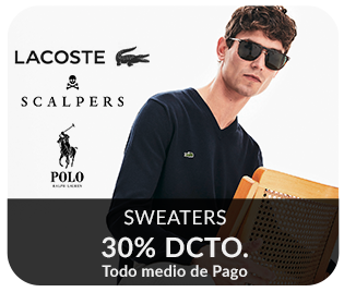 sweaters 30% dcto. hombre
